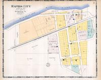 Rapid City, Rock Island County 1905 Microfilm and Orig Mix