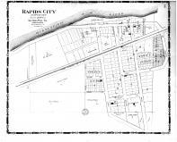 Rapids City, Rock Island County 1905 Microfilm and Orig Mix
