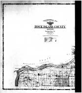 Rock Island County Topographical  Map - Left, Rock Island County 1905 Microfilm and Orig Mix