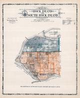 Rock Island and South Rock Island Township, Sears, Luchman Station, South Heights P.O., Rock Island County 1905 Microfilm and Orig Mix