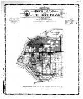 Rock Island & South Rock Island Township, Rock Island County 1905 Microfilm and Orig Mix