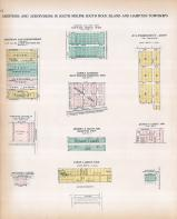 South Moline - Additions, Korbs Add., Cottage Grove Subd., Woodburn's Add., Rock Island County 1905 Microfilm and Orig Mix