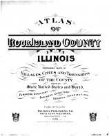 Title Page, Rock Island County 1905 Microfilm and Orig Mix