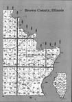Brown County Index Map 2, Schuyler and Brown Counties 1995
