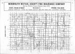 Index Map, Warren County 1985