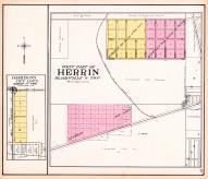 Herrin - West, Harrison's Out Lots, Williamson County 1908