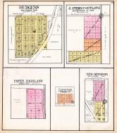 Hudgens, S. Sterns Outlots, Pope's Highland, Canaville, New Dennison, Williamson County 1908