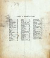 Index to Illustrations, Williamson County 1908