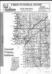 Carroll County Index Map 001, Carroll and White Counties 2001