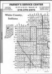 White County Index Map 001, Carroll and White Counties 2001