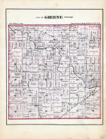 Greene Township, Jay County 1881