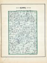 Knox Township, Jay County 1881