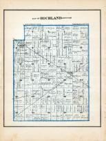 Richland Township, Red Key, Dunkirk, Jay County 1881