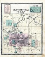 Crawfordsville, Hillside, Durham, Fairview, Longview, Montgomery County 1878