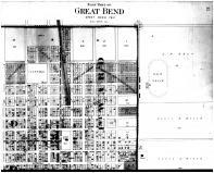 Great Bend East Part, Page 032 - Above, Barton County 1902