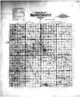 Brown County Outline Map, Brown County 1904