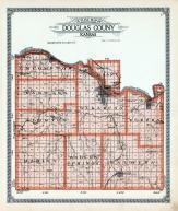Douglas County Outline Map, Douglas County 1921