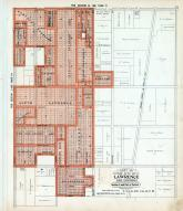 Lawrence City - Sections 006 and 007, Douglas County 1921