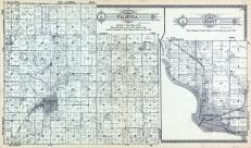 Palmyra Township, Grant Township, Lawrence, Baldwin City, Kansas River, Vinland, Ottawa Creek, Douglas County 1921