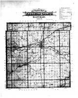 Franklin County Outline Map, Franklin County 1903