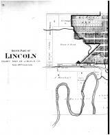Lincoln South - Left, Lincoln County 1901