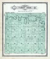 Turkey Creek Township, Solomon River, Indian Creek, Mitchell County 1917