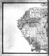 Pottawatomie County Outline Map - Left, Pottawatomie County 1905