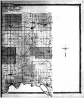 Pottawatomie County Outline Map - Right, Pottawatomie County 1905