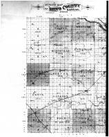 Reno County Outline Map - Left, Reno County 1902