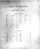 Table of Contents 001