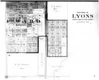 Lyons East - Below, Rice County 1902