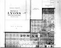 Lyons West - Above, Rice County 1902