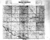 Rice County Outline Map, Rice County 1902