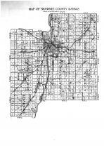 Shawnee County Map, Shawnee County 1913