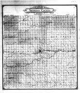Sheridan County Outline Map, Sheridan County 1906