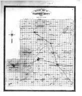 Strafford County Outline Map, Stafford County 1904