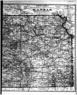 Kansas State Map - Right, Sumner County 1883