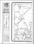 Index Map 1, Alcona County 2001