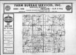 Index Map, Cass County 1968