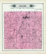 Adams Township, Hillsdale County 1894