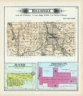 Hildale Township, Frontiel P.O., Austin, Sand Lake, Hillsdale County 1894