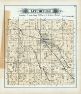 Litchfield Township, Sand Creek, Hillsdale County 1894