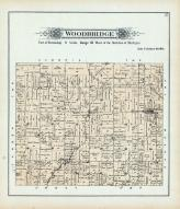 Woodbridge Township, St. Joseph River, Frontier P.O., Hillsdale County 1894