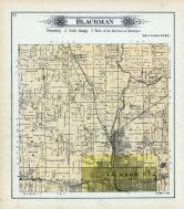 Blackman Township, Jackson, Van Horn's Crossing, Woodville, Jackson County 1894