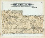 Napoleon Township, Eldred P.O., Michigan Center Mill Pond, Jackson County 1894
