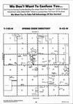Spring Creek T142N-R42W, Becker County 1995 Published by Farm and Home Publishers, LTD
