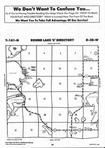 Round Lake T141N-R38W, Becker County 1995 Published by Farm and Home Publishers, LTD