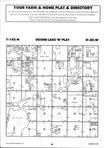 Round Lake T142N-R38W, Becker County 1995 Published by Farm and Home Publishers, LTD
