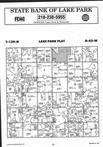 Map Image 078, Becker County 1995 Published by Farm and Home Publishers, LTD