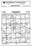 Map Image 011, Brown County 1999 Published by Farm and Home Publishers, LTD